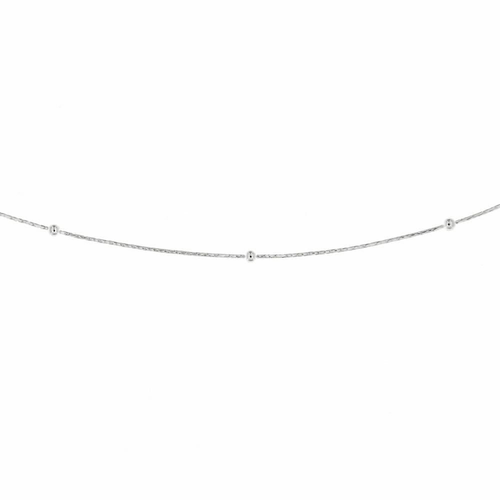 Stříbrný řetízek AIDA_50
