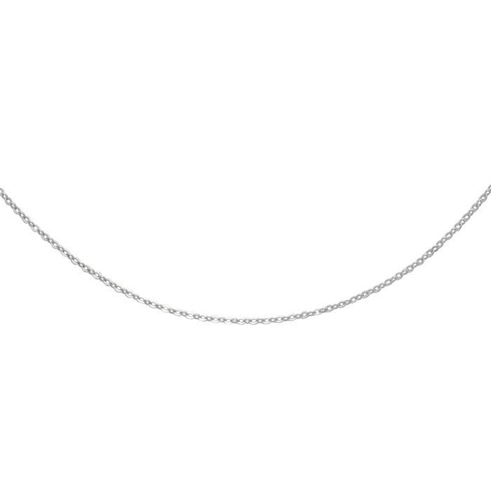 Stříbrný řetízek cable BRILL Ø030 36cm