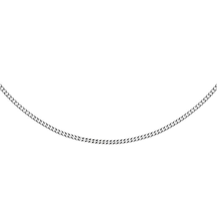 Stříbrný řetízek CURB Ø050 45cm