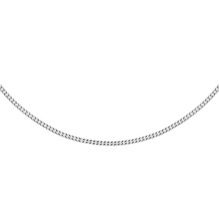 Stříbrný řetízek CURB Ø0,50 50cm
