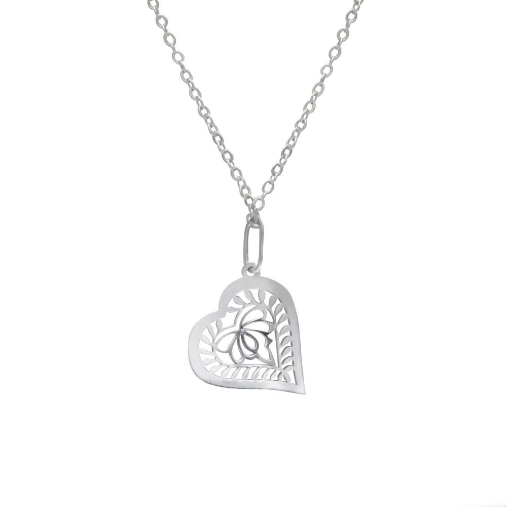 Stříbrný přívěsek na stříbrném řetízku KO1194_BR030_50