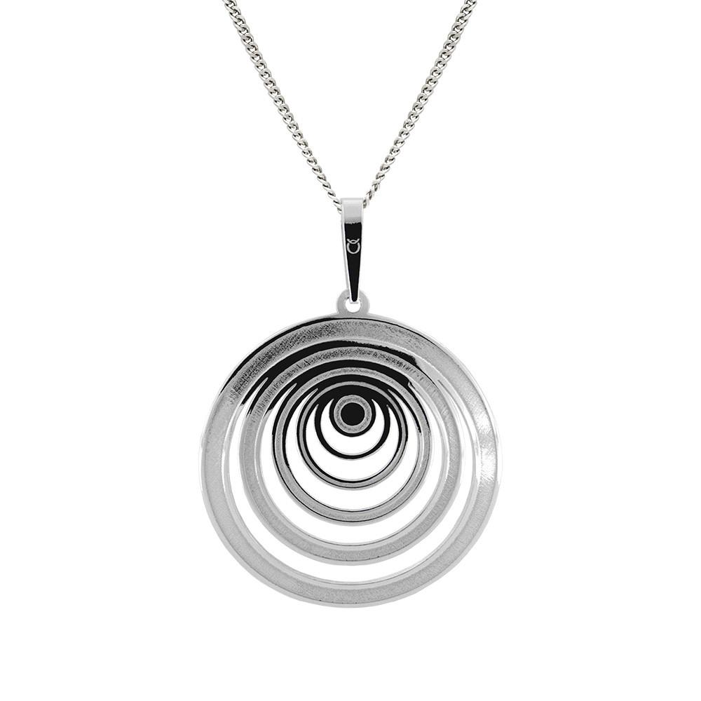 Stříbrný přívěšek na stříbrném řetízku KO1445_CU040_45