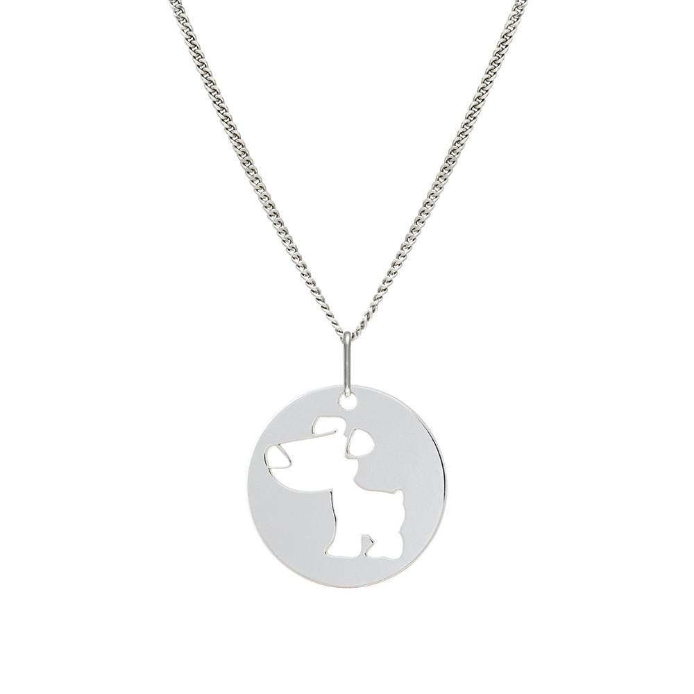 Dětský stříbrný přívěsek na řetízku KO1455_CU035_40