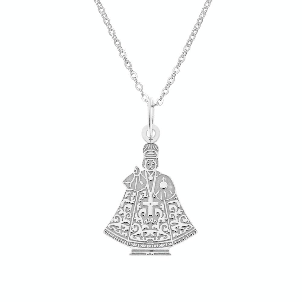 Stříbrný přívěsek na stříbrném řetízku Jezulátko