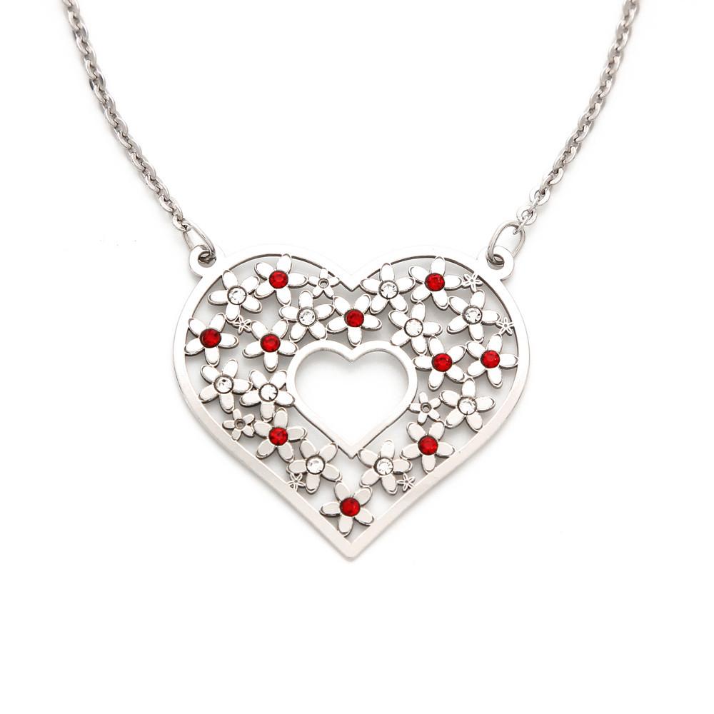 Stříbrný náhrdelník Amour