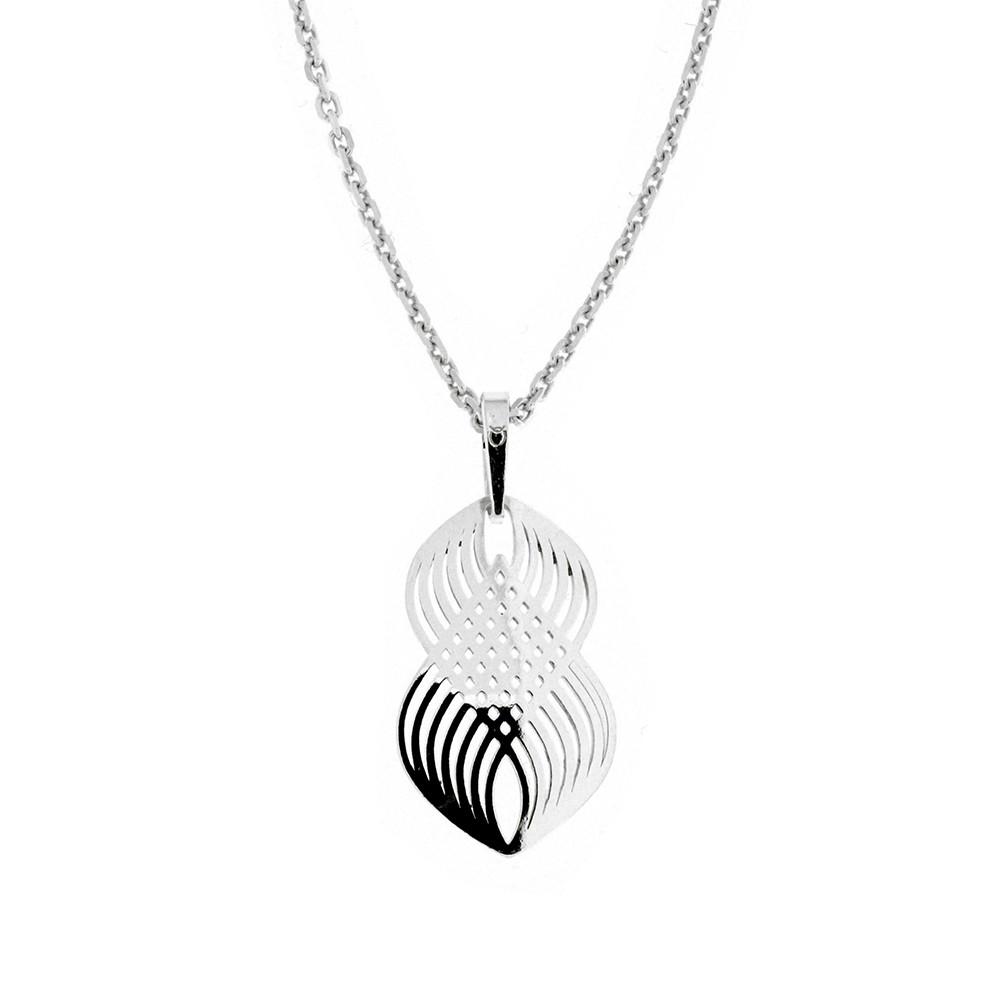 Stříbrný přívěsek na stříbrném řetízku KO2104_MO040_45