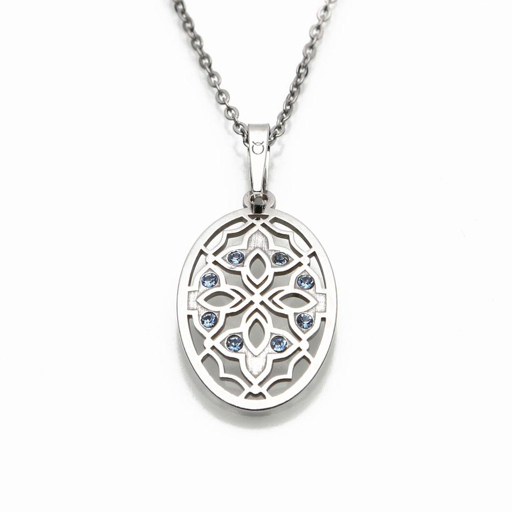 Stříbrný přívěsek na stříbrném řetízku Carthedral Ornament