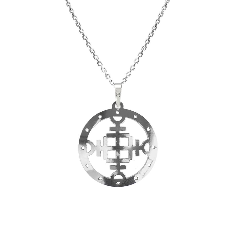 Stříbrný přívěšek na stříbrném řetízku pro muže KO5005_MO060_50