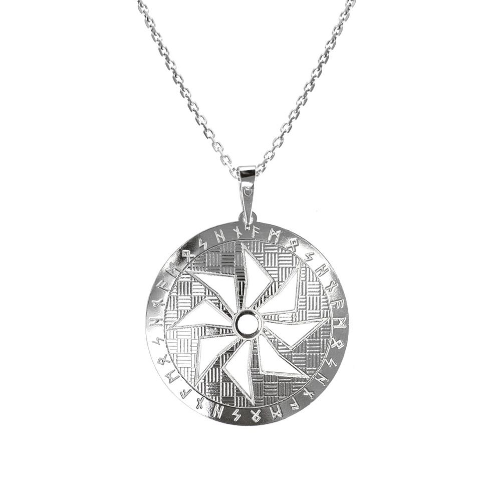 Stříbrný přívěšek na stříbrném řetízku pro muže KO5006_MO060_50