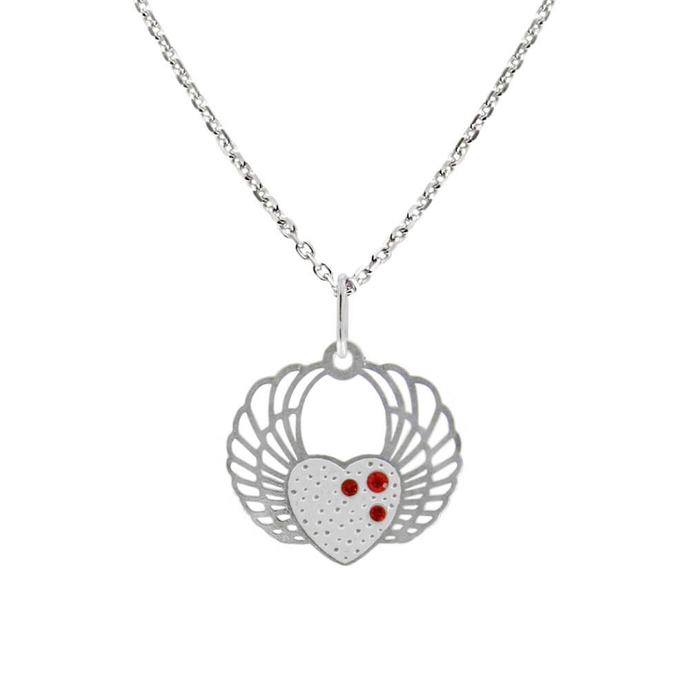 Stříbrný přívěsek na stříbrném řetízku KO5134_MO040_45