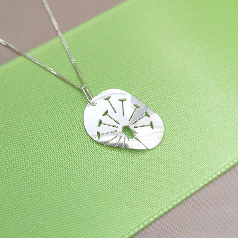 Stříbrný náhrdelník Blowball