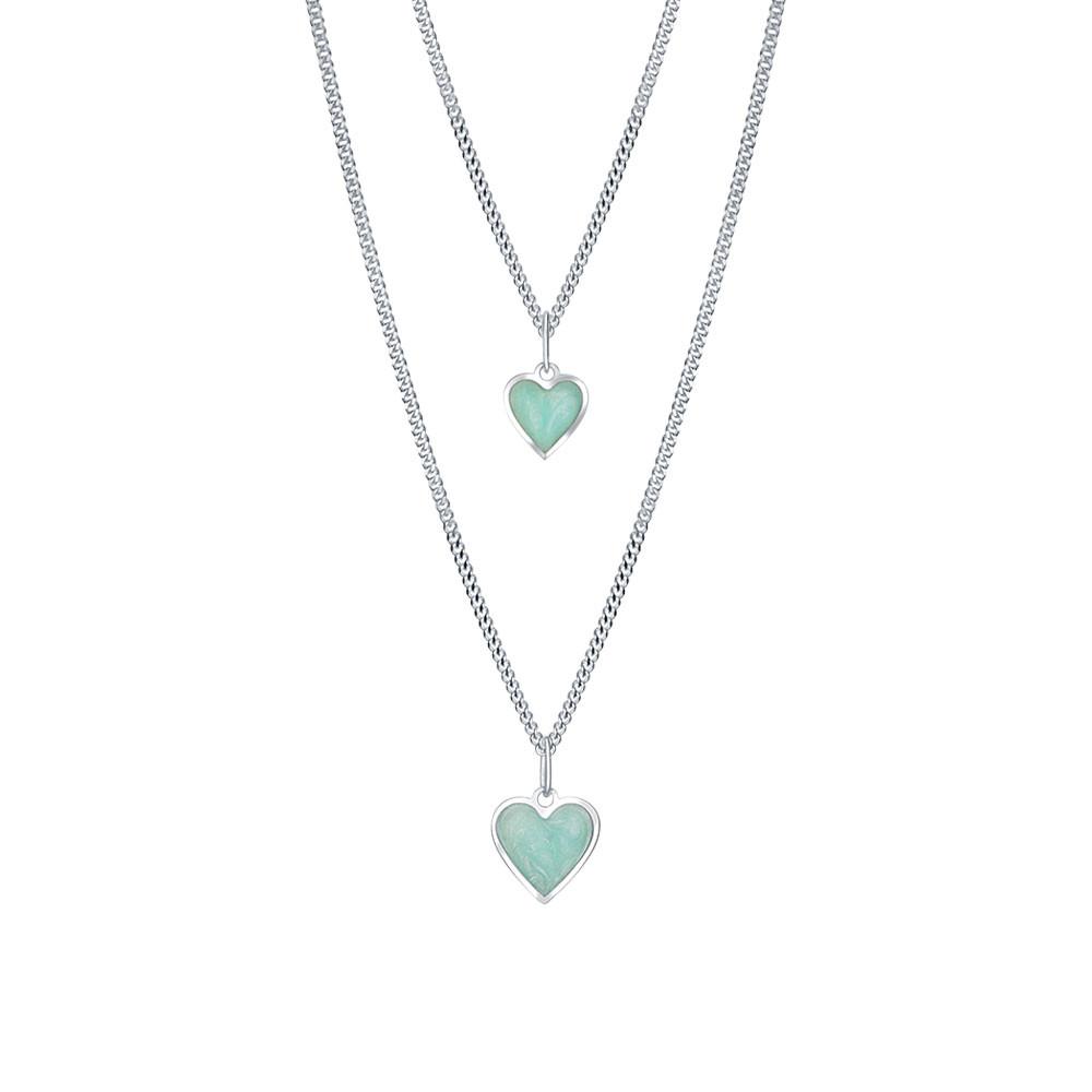 Stříbrný set Mint love