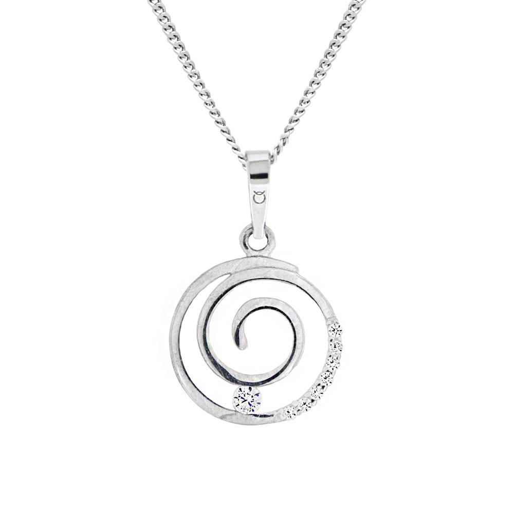 Stříbrný přívěsek na stříbrném řetízku KO8032_CU040_45