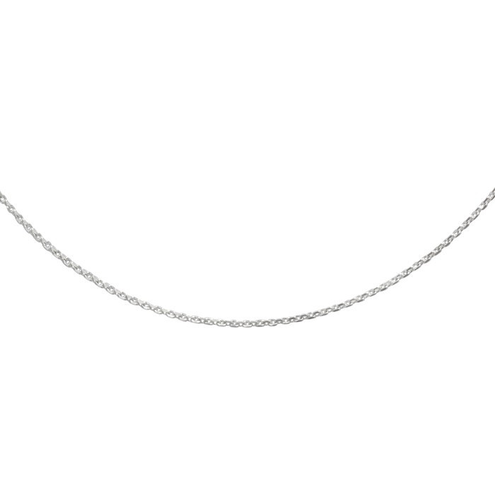 Stříbrný řetízek cable MO4D Ø040 36cm