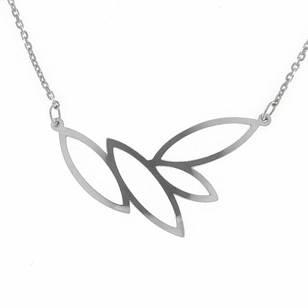 Stříbrný náhrdelník Laurel