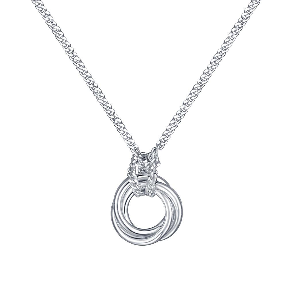 Stříbrný náhrdelník Silver Ring