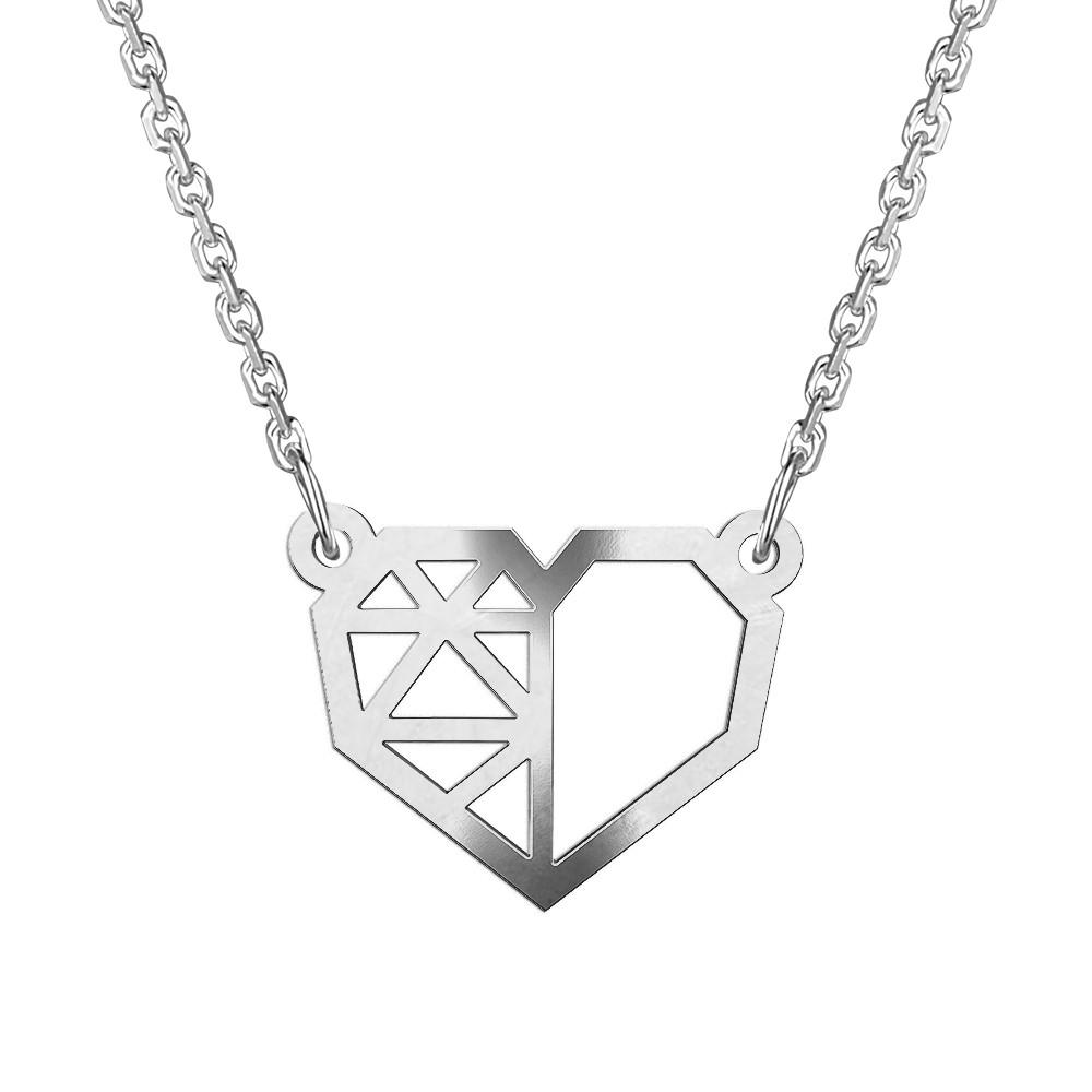Stříbrný náhrdelník NATALIA