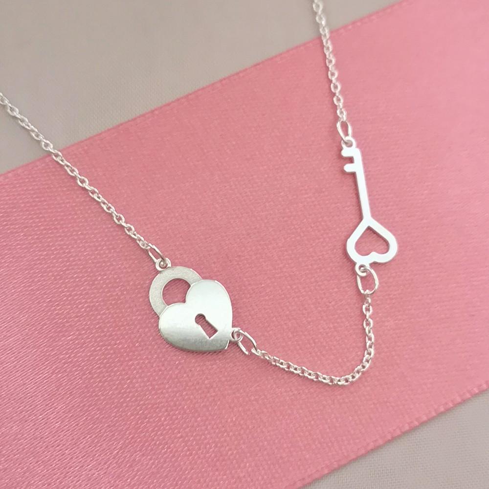 Stříbrný náhrdelník ZOE