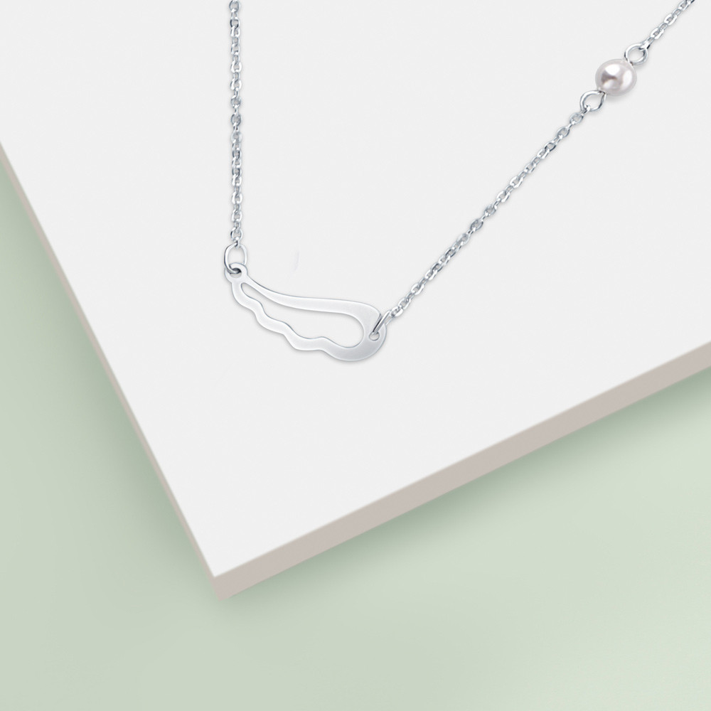 Stříbrný náhrdelník Heavenly
