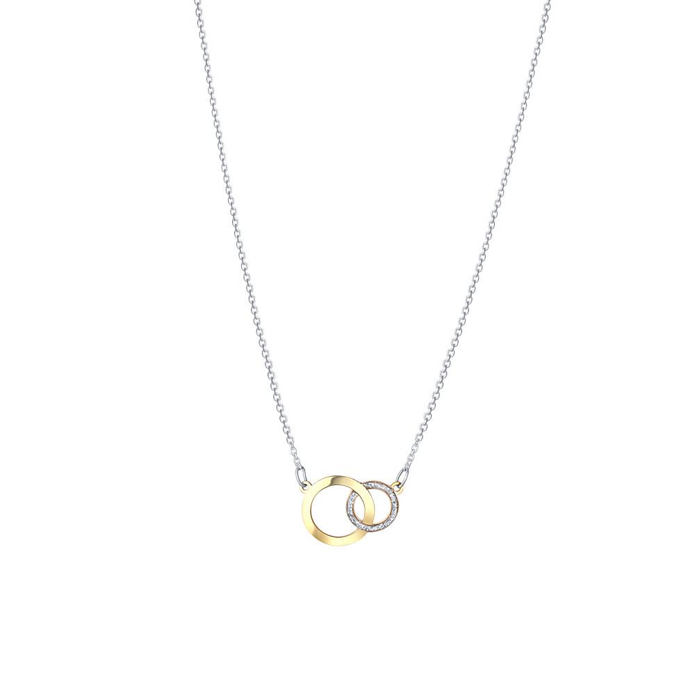 Stříbrný náhrdelník Ronja
