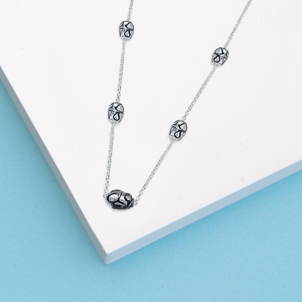 Stříbrný náhrdelník Night sky