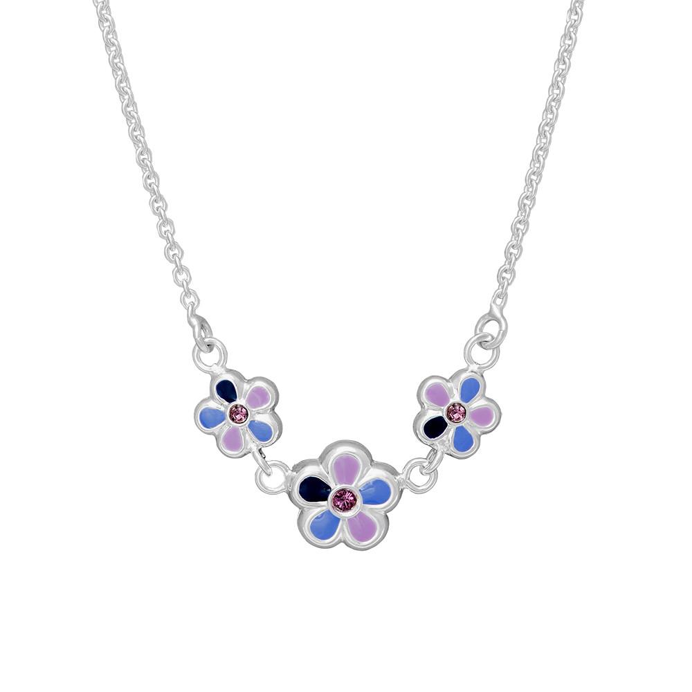 Stříbrný náhrdelník N8001