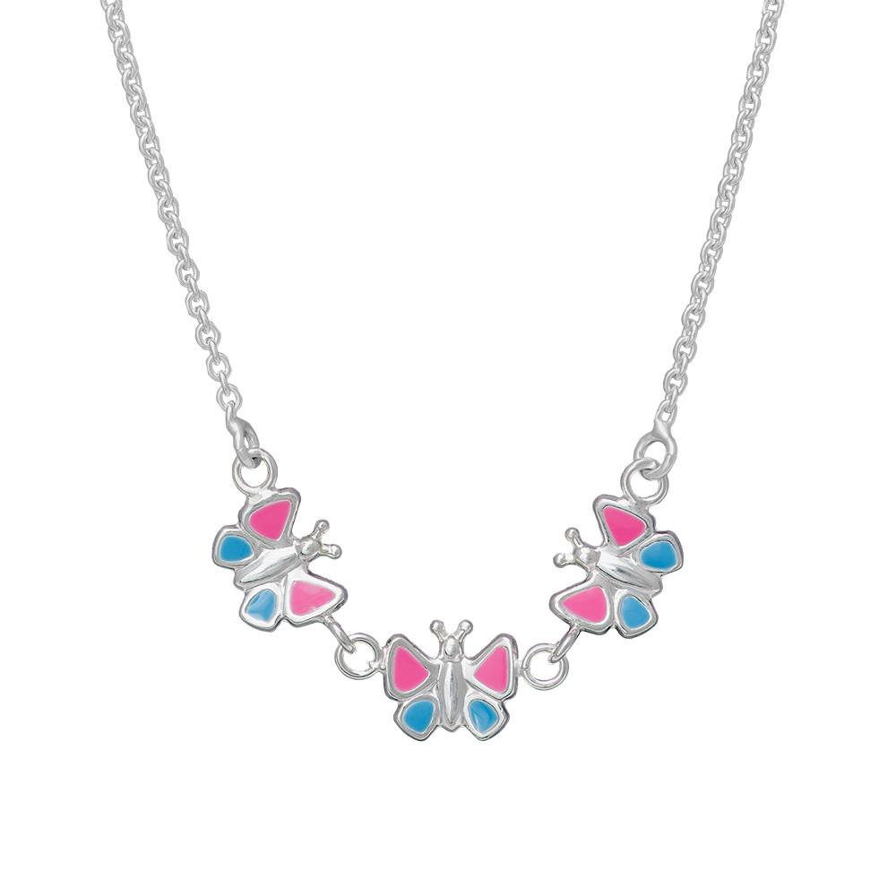 Stříbrný náhrdelník N8005