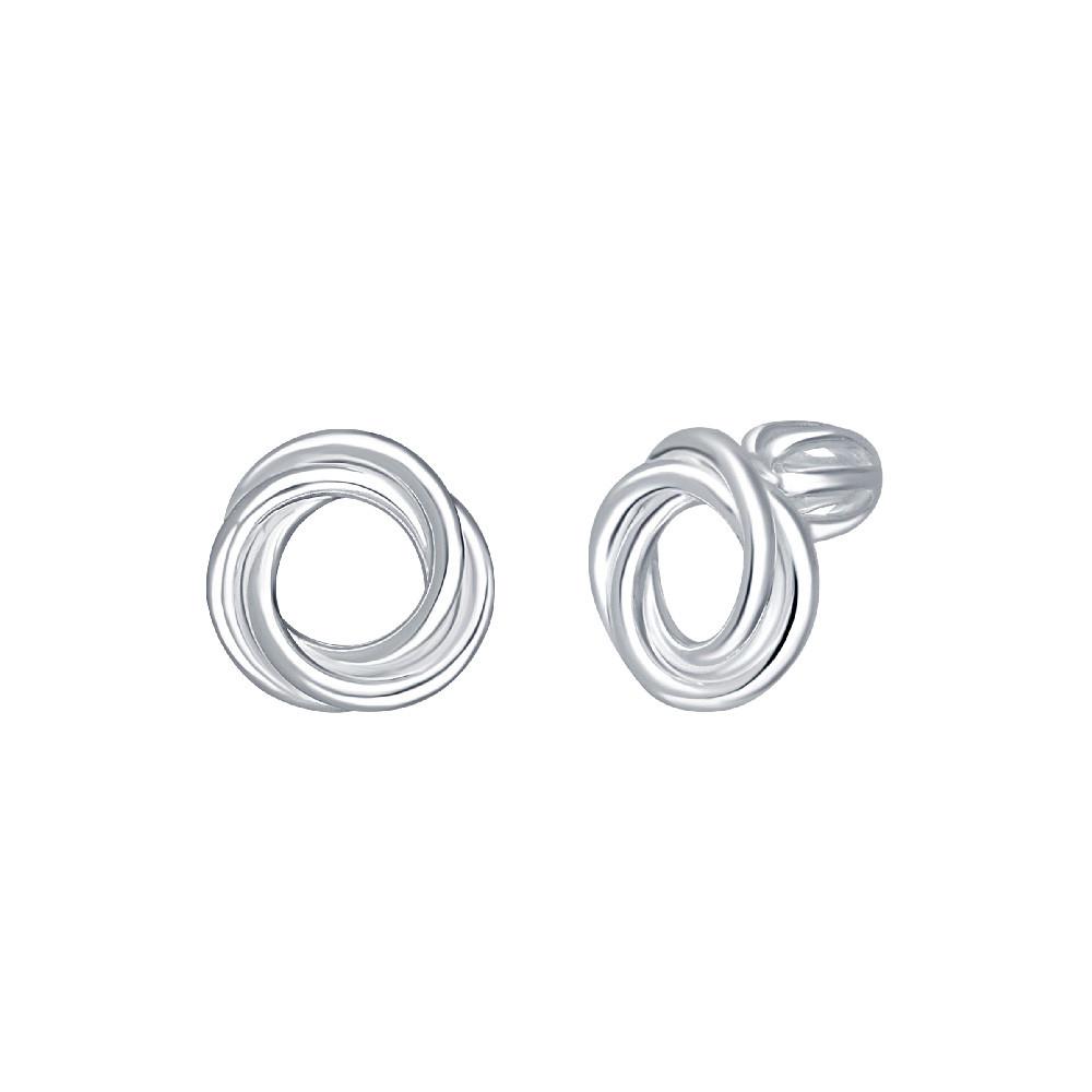 Stříbrné náušnice Silver Ring