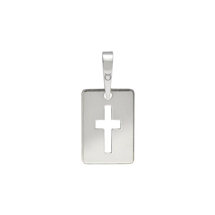 Stříbrný střední přívěšek PA0027 křížek