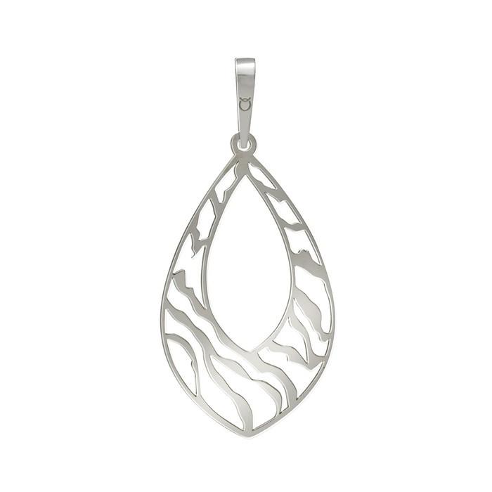 Stříbrný velký přívěšek PA0367 ornamenty