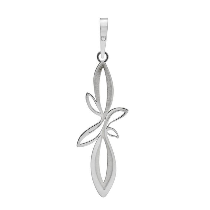Stříbrný přívěšek PA0411 květiny