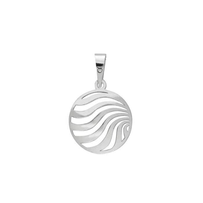 Stříbrný velký přívěšek PA1413 ornamenty