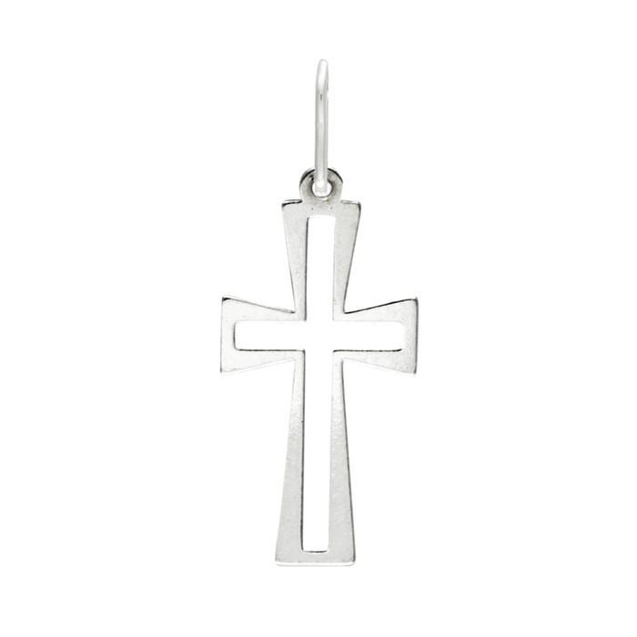 Stříbrný malý přívěsek PA1537 křížek