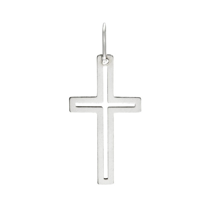 Stříbrný malý přívěšek PA1544 křížek