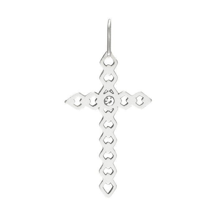 Stříbrný malý přívěšek PA1545 křížek