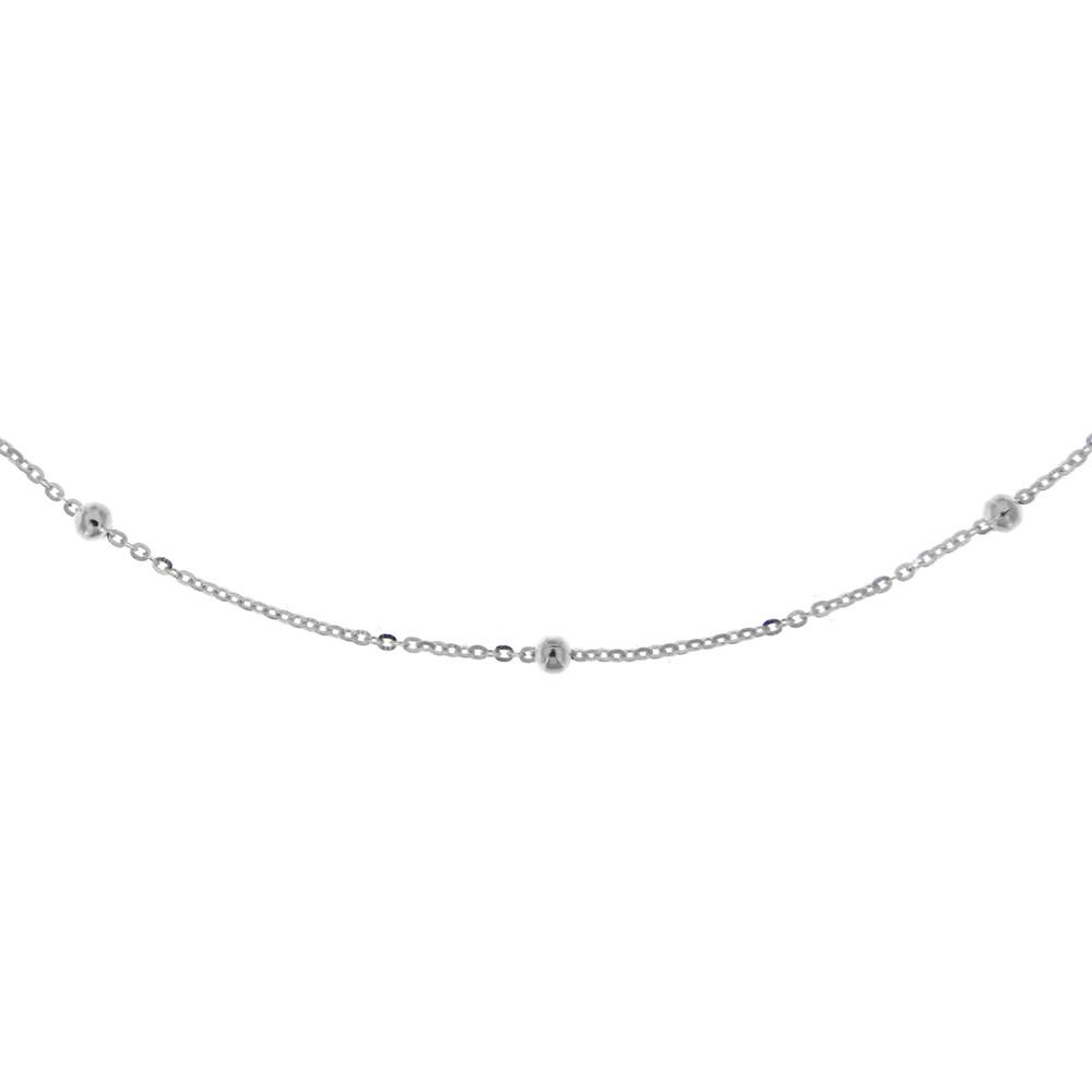 Stříbrný řetízek TINA_45