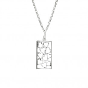 Stříbrný přívěsek na stříbrném řetízku KO0313m_CU040_50