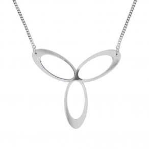 Stříbrný náhrdelník Eternity