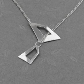 Stříbrný náhrdelník Gemini