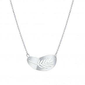 Stříbrný náhrdelník Silver palm