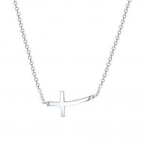 Stříbrný náhrdelník Brenna