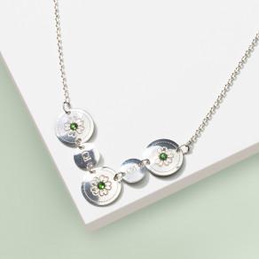Stříbrný náhrdelník Olive