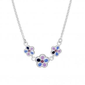 Dětský stříbrný náhrdelník N8001