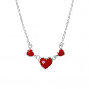 Dětský stříbrný náhrdelník N8003