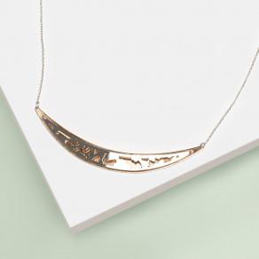 Stříbrný náhrdelník Marble