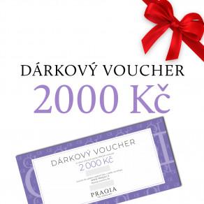 Dárkový voucher 2000 Kč