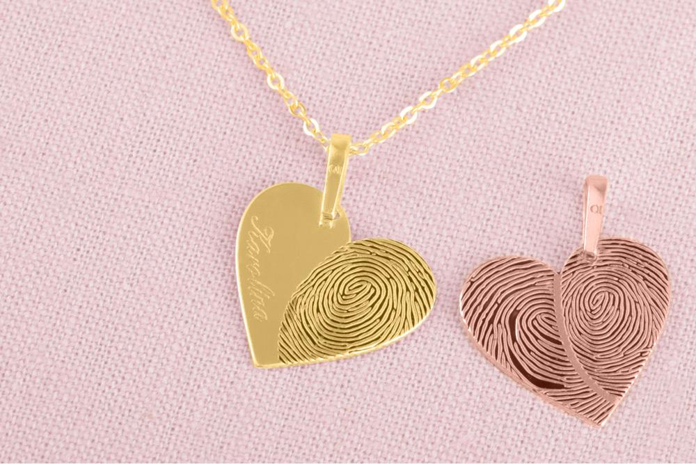 Personalizované šperky Praqia